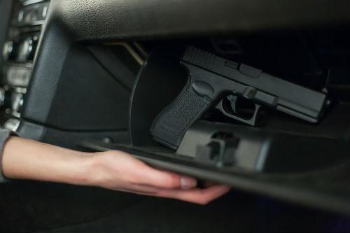 dui with handgun in car
